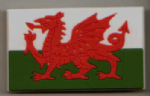Wales Country Flag Soft PVC Fridge Magnet.